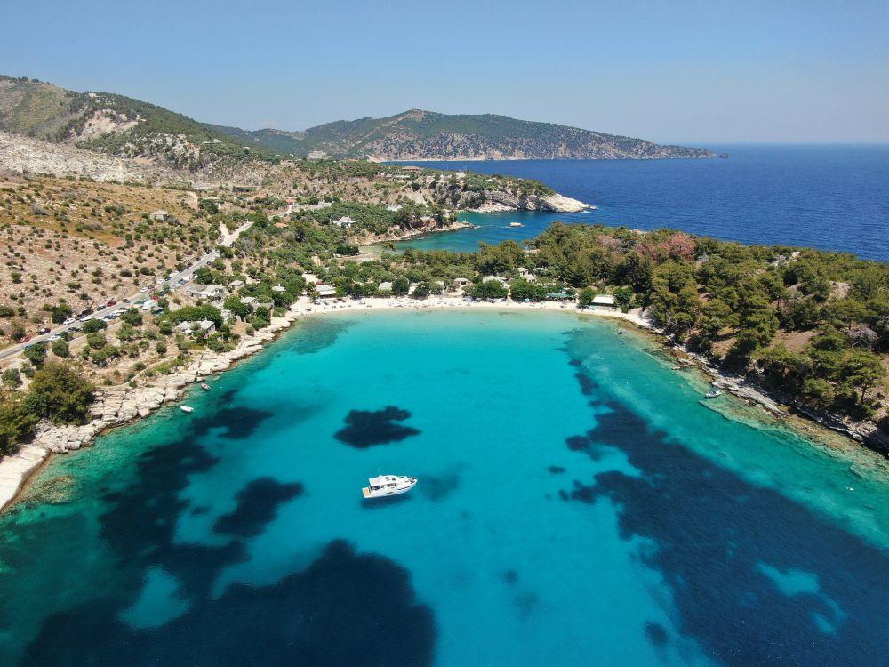 Thassos Grecia Aer