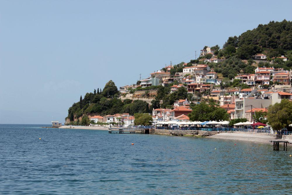 lac, evia, insula, mare, Grecia, natura, albastru, apa albastra