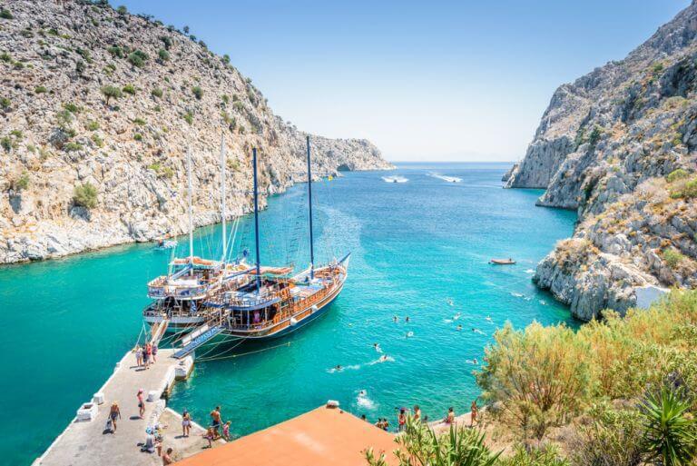 Thermes se numara printre cele mai frumoase plaje din Grecia