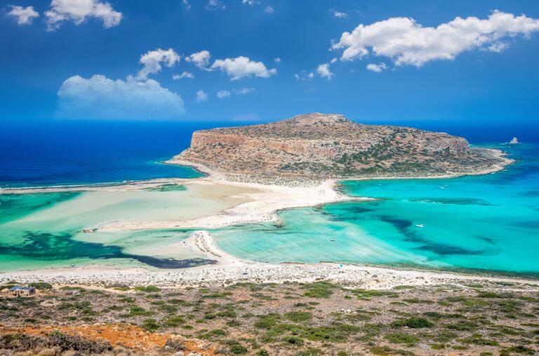 Plaja Balos Lagoon, in topul celor mai frumoase plaje din Grecia